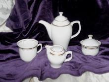 Vintage JLmena Graf can Hennebergu Porcelain Tea Service  **LOOK**