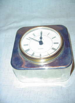 International Silver Company Clock