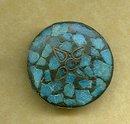Inlaid Turquiose Pendant