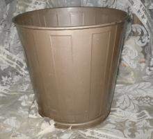 Vintage Metal Industrial Mid Century Modern Lawson Waste Basket