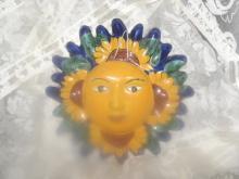 Hand Painted Sun Flower Decoration