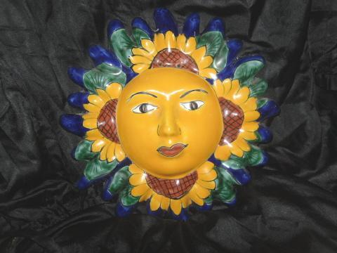 Hand Painted Sun Flower Decoration