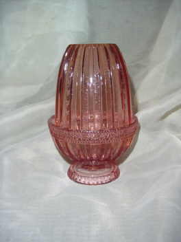 Vintage Fenon Glass Fairy Lamp
