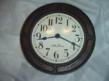 Seth Thomas Tile  Wall Clock