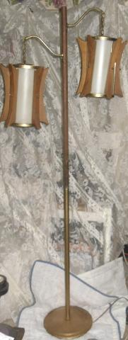 Vintage Mid Century Modern Danish Floor Lamp