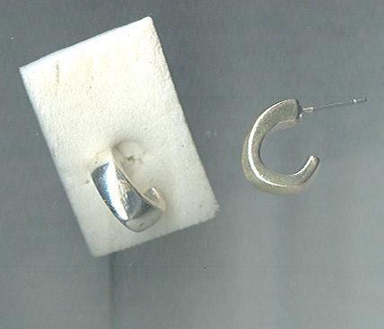 Silver James Avery Style Earrings