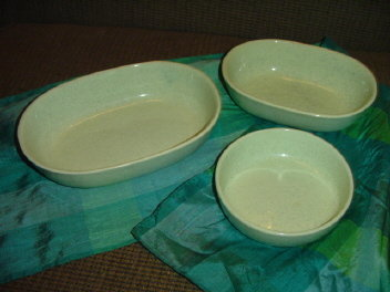 Vintage California Pottery Bowls (3 Piece)  *Signed