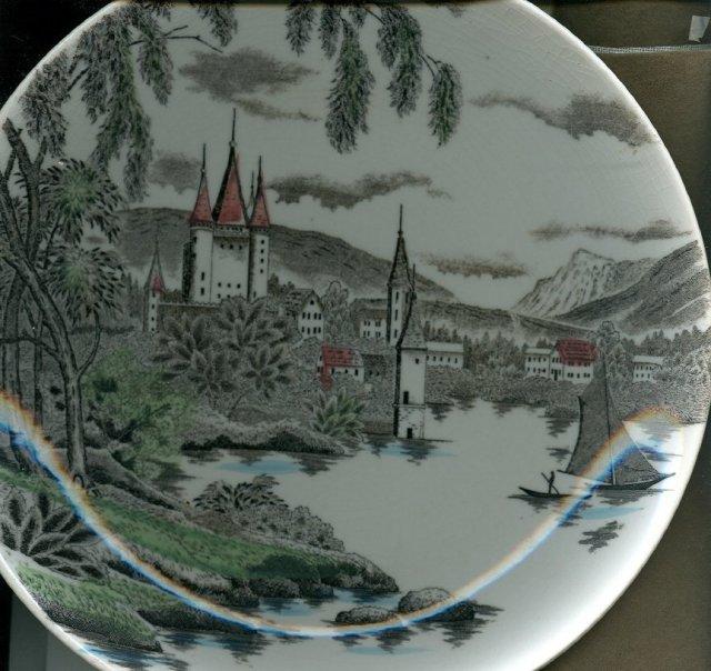 LaVille Scenery Plate