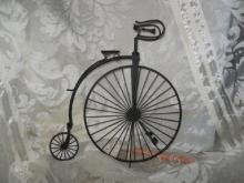 HOMCO  Home Interiors Antique Bicycle and Tricycle  Decorations