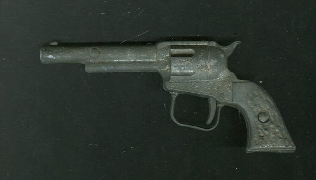 Antique Cast Iron Cap Gun