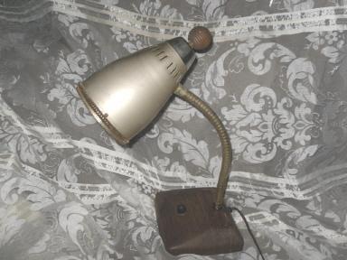 Vintage Mid Century Modern Cone Desk Lamp