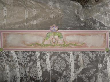 Vintage Large Floral Wall Sculpture