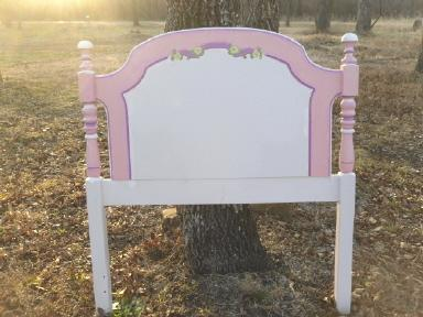 Painted Furniture Twin Size Headboard