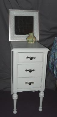 Painted Furniture Vintage Night Stand or End Table