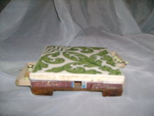 Vintage Ceramic Tile Match Holder