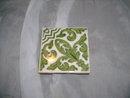 Vintage Ceramic Tile Match Holder