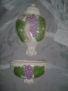 Ceramic Wall Pocket Set