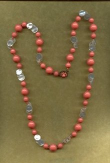 Vintage Miriam Haskell Beaded Necklace