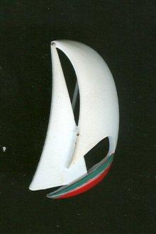 Enamel Sailboat Pin
