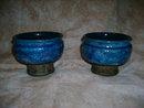Vintage Bitossi Italian Pottery Candleholders
