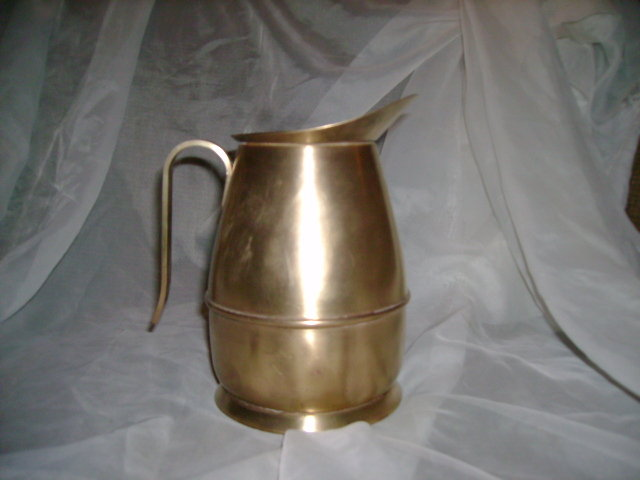 1940's Brass Pitcher  ****Hallmarked