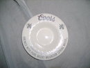 Silver  Coors Advertising  Ashtray