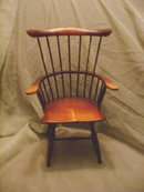 Antique Style Wooden Doll Chair