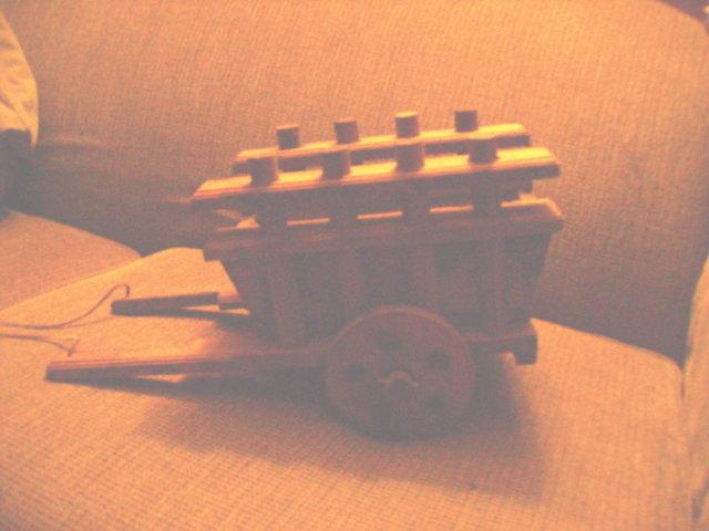 Primitive Wagon Planter &/or Decoration