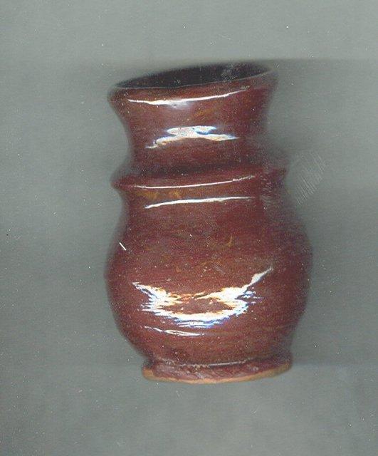 Jamestown Pottery Vase