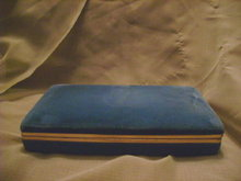 Vintage  Velvet Jewelry Case or Jewelry Travel Case