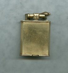 Vintage 18 kt Gold Plated Precision Made Cigarette Lighter