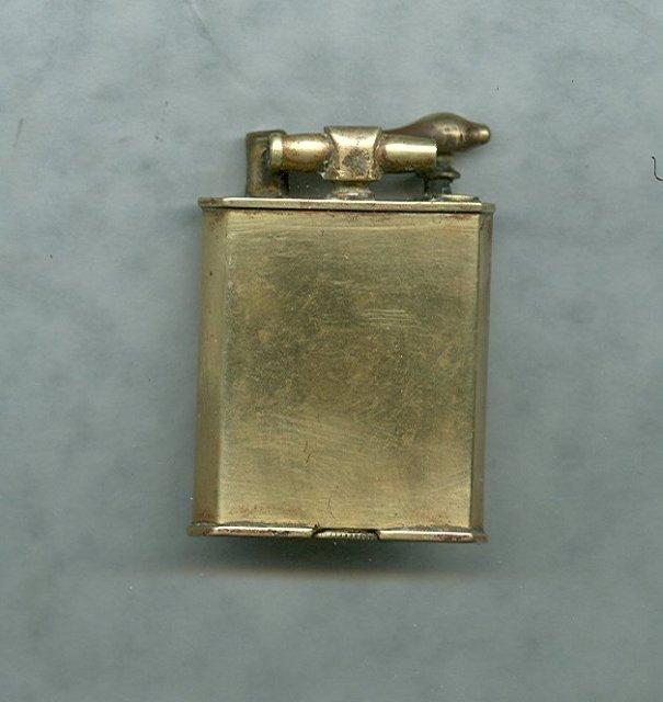 Vintage 18 kt Gold Plated Precision Made Cigarette Lighter
