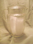 Large Vintage Ice Tea Pitcher