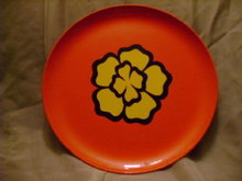 60's Flower Power Tray