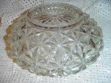 Depression Glass Light Globe