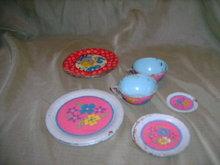 Vintage Ohio Art Tin Dishes
