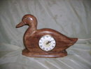 Vintage Ceramic Duck Mantel Clock