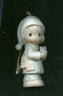 Precious Moments Christmas Ornament