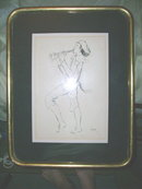 Original Etching Signed Casas 79