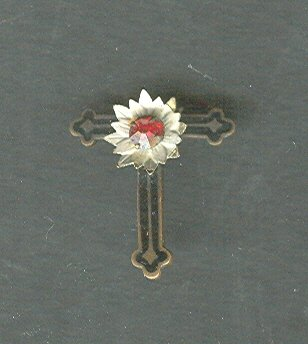 Victorian Cross Pin