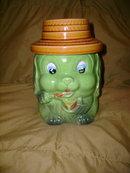 Vintage Puppy Cookie Jar
