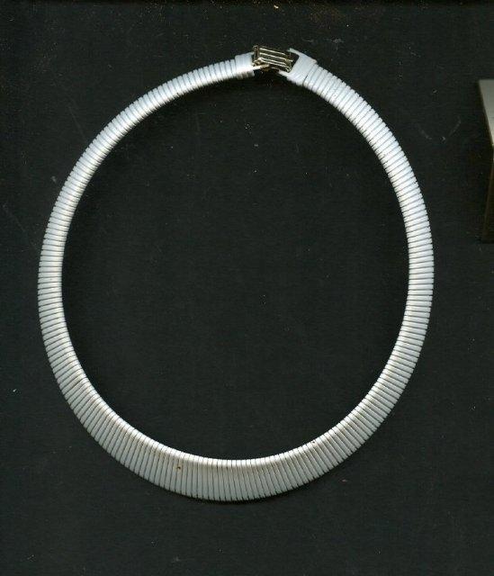 Retro  Cleopatra Style Enamel Necklace