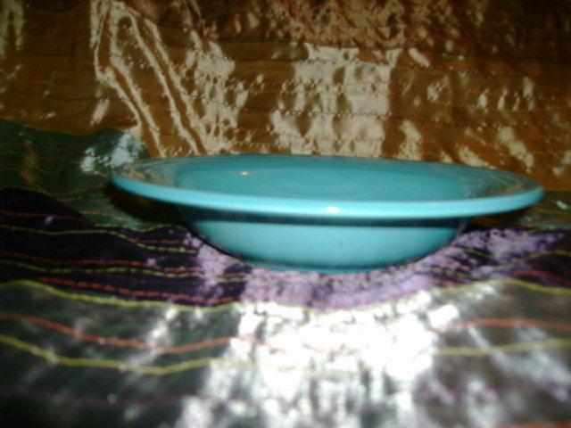Vintage Fiesta Turquiose Bowl
