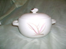 Vintage Winfield Pottery Covered Dish