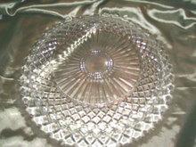 Vintage Pressed  Glass Platter