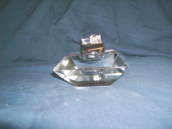 Art Deco Lucite Table / Cigarette Lighter