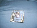 Art Deco Lucite Table / Cigarette Lighter