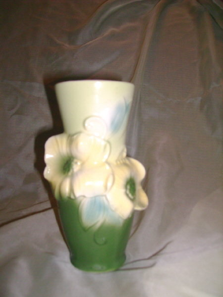Vintage Royal Copley Floral Vase