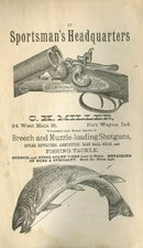 1898  Sportsmans Headquarter's  Advertisement
