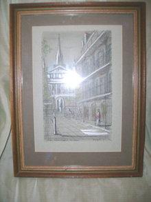 Franz Weiss Original Art  New Orleans Street Scene **LOOK***